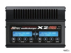 HITEC - X2 multi charger 400.