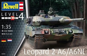 Revell 03281 Leopard 2 A6/A6NL