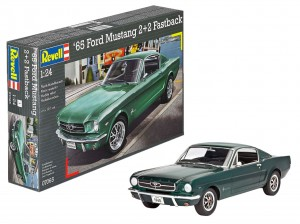 Revell 07065 1965 Ford Mustang 2+2 Fastback