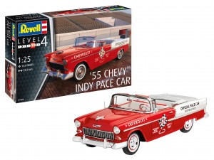 Revell 07686 '55 Chevy Indy Pace Car /skala 1:25/