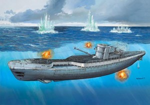 Revell 05133 German Submarine Type IXC/40