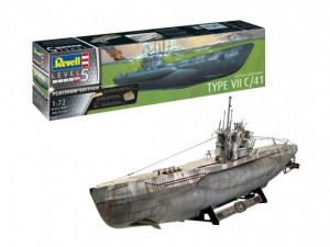 Revell 05163 German Submarine Type VII C/41