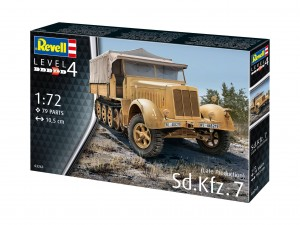 Revell 03263 Sd.Kfz.7 (Late Production)