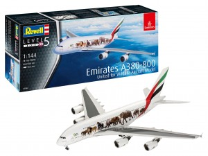 Revell 03882 Emirates A380-800 Emirates United for Wildlife Aircraft Model