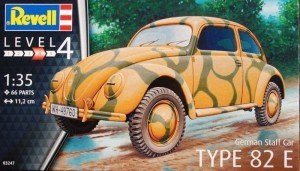 Revell 03247 GERMAN STAFF CAR Type 82e