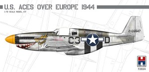 72024 P-51B Mustang US Aces over Europe