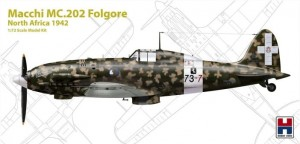 72006 Macchi MC.202 Folgore North Africa 1942