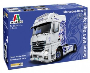 Italeri 3935 Mercedes-Benz ACTROS MP4 Giga Space