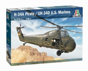 Italeri 2776 H-34A Pirate /UH-34D U.S. Marines