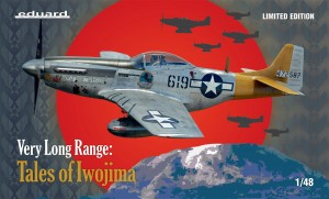 NEW! Eduard 11142 VERY LONG RANGE: Tales of Iwojima P-51D Limited edition
