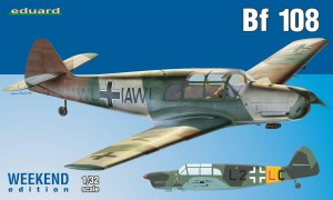 NEW! Eduard 3404 Bf 108 Weekend edition