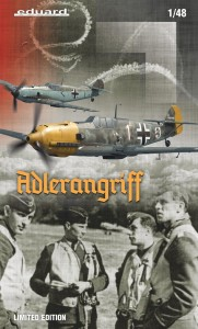 NEW! Eduard 11144 Bf 109E ADLERANGRIFF Limited edition