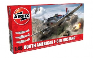Airfix 05136 North American F-51D Mustang