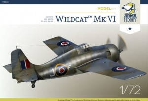 NEW! Arma Hobby 70032 Wildcat™ Mk VI Model Kit