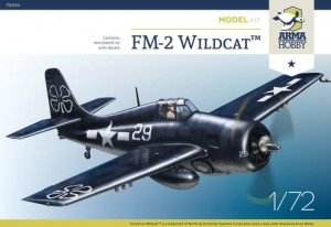 NEW! Arma Hobby 70033 FM-2 Wildcat Model Kit