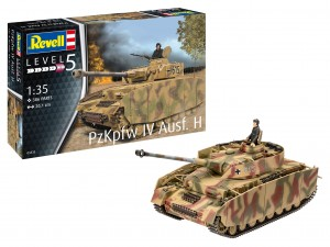 NEW! Revell 03333 Panzer IV Ausf. H