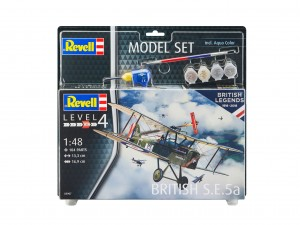 Revell 63907 British S.E.5a Model Set