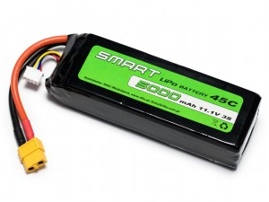 SMART LiPo BATTERY - akumulator LiPo 5000mAh / 3S / 45C