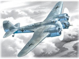 ICM 72163 Avia B-71 WWII German Air Force Bomber