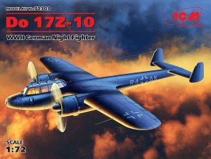 ICM 72303 Do 17Z-10, WWII German Night Fighter (100% new molds)