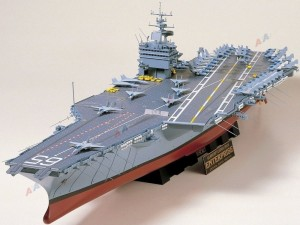 Enterprise US Aircraft Carrier Tamiya 78007  1: 350