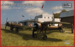 NEW! IBG 72529 Combat Trainers 2 in 1: PZL P.11a and PZL.23A Karaś