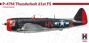 NEW! Hobby 2000 72045 P-47M Thunderbolt 61st Fighter Squadron