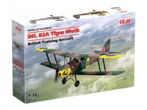NEW! ICM 32035 DH. 82A Tiger Moth, British Training Aircraft