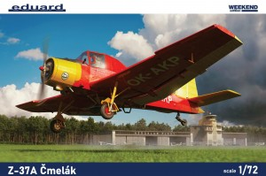 NEW! Eduard 7456 Z-37A Čmelák Weekend edition
