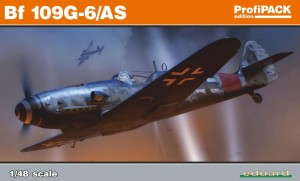 Eduard 82163 Bf 109G-6/AS ok ProfiPACK edition