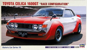 Hasegawa HC16 TOYOTA CELICA 1600GT Race Configuration 21216