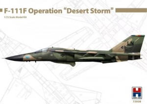 "Hobby 2000 72038 General-Dynamics F-111F Operation "" Desert Storm """
