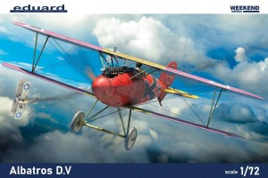 NEW! Eduard 7406 Albatros D.V Weekend edition