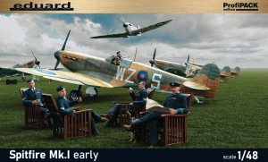 NEW! Eduard 82152 Spitfire Mk.I early Profipack edition