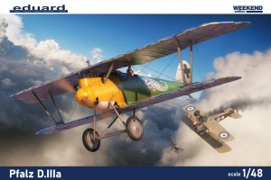 NEW! Eduard 8414 Pfalz D.IIIa Weekend edition