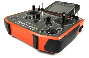 Aparatura - Jeti DS-16 2,4 GHz Duplex Carbon Red