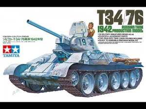 Tamiya 35049 Russian medium tank T34/76 (1942)
