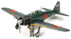 Tamiya 60318 Mitsubishi A6M5 Zero Fighter Model 52