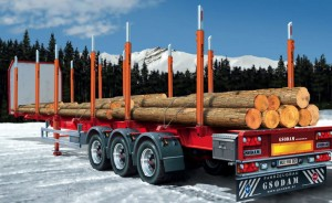 Italeri 3868 Timber Trailer