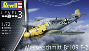NEW! Revell 03893 Messerschmitt Bf 109 F-2