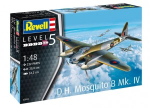 Revell 03923 D.H. Mosquito Bomber