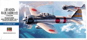 Hasegawa D21 A6M2 Zero Fighter Type 21