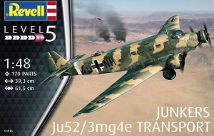 Revell 03918 Junkers Ju52/3mg4e Transport