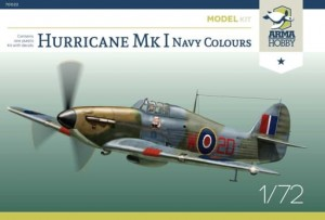 70022 Hurricane Mk I Navy Colours - Model Kit