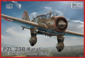 IBG 72506 1/72 PZL 23B Karaś Polish Light Bomber early