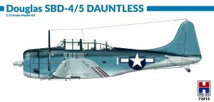 NEW! Hobby 2000 72014 Douglas SBD-4/5 Dauntless