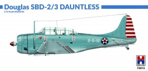 NEW! Hobby 2000 72013 Douglas SBD-2/3 Dauntless