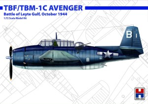 NEW! Hobby 2000 72010 TBF/TBM-1C Avenger Battle of Leyte Gulf, October 1944