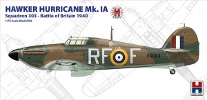 Hobby 2000 72001 Hawker Hurricane Mk. IA Squadron 303 Battle of Britain 1940