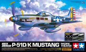 Tamiya 60323 North American P-51D/K Mustang - Pacific Theater
